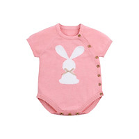 Toddler Baby Boy Girls Rompers Summer Knit Newborn Baby Sunsuit Clothes Rabbit Infant Boys Jumpsuits Kids One Piece Clothing