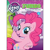 My Little Pony - Jumbo Tô Màu Và Các Trò Chơi 2