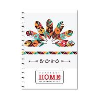 Sổ lò xo bìa bồi Hải Tiến Home - A4, A5 200 trang