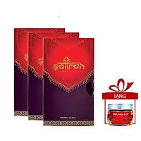 Nhụy hoa nghệ tây Saffron Salam 3 hộp 0.5gr tặng trà hoa cúc 8gr