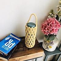 Túi Đựng Bình Giữ Nhiệt Macrame (500-750ml) - Thân Thiện Môi Trường,Tiện Lợi, Hợp Thời Trang Giúp Mang Theo Bình Giữ Nhiệt Khi Di Chuyển