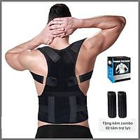 Đai định hình hỗ trợ chỉnh sửa tư thế chống gù lưng/vẹo cột sống/nâng đỡ vai và cột sống giúp giảm đau lưng