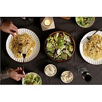 Set 2 đĩa ăn mỳ ý - Cotton - Erato  - Hàng nhập khẩu Hàn Quốc
