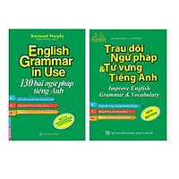 Sách - Combo English Grammar In Use 130 Bài Ngữ Pháp Tiếng Anh,Trau dồi ngữ pháp và từ vựng tiếng Anh