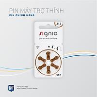 Pin máy trợ thính Signia 312