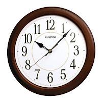 Đồng hồ treo tường RHYTHM (Wooden Wall Clocks) CMG131NR06 (Kích thước 30.0 x 4.6cm)