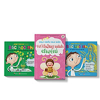 Combo 3 cuốn Bác học nhí - Giải thích các hiện tượng khoa học + Bác học nhí - thí nghiệm khoa học thật dễ + Phát triển toàn diện trí thông minh cho trẻ