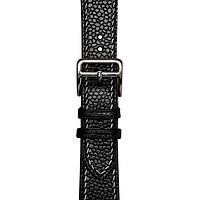 Dây đeo đồng hồ 22-18 MM  SP000586 Minerva Box Đen  cho Apple Watch