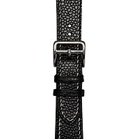Dây đeo đồng hồ 24-20 MM  chính hãng HANHSON SP000585 Degermann Beluga Đen  cho Apple Watch