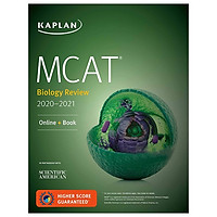 MCAT Biology Review 2020-2021: Online + Book (Kaplan Test Prep)
