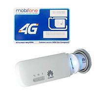 Huawei E8372 | USB 4G phát wifi Huawei E8372 tốc độ cao + Sim 4G Mobifone Khuyến Mãi 60GB/Tháng - Hàng nhập khẩu