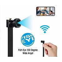 Camera V99 Mini WiFi Góc Rộng 150 Độ Tầm Quan Sát Tốt WiFi Từ Xa 4K FullHD 1080P Siêu Nét Hàng nhập khẩu