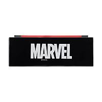 Hộp bút Miniso nhựa in chữ Marvel loại lớn (Giao màu ngẫu nhiên) - Hàng chính hãng