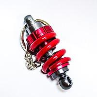 Móc khóa phuộc nhún - Màu đỏ