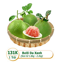 [Rau Củ Trái Cây - Giao nhanh HCM] Combo bưởi da xanh  (1 Trái - Size từ 1.8kg - 2.2kg; giao ngẫu nhiên)