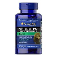 Thực Phẩm Chức Năng - Viên Uống Bổ Trí Não, Tăng Cường Trí Nhớ Puritan'S Pride Neuro-Ps Phosphatidylserine 100Mg (60 Viên)