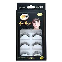 5 cặp lông mi giả tự nhiên và cong Natural & Soft Eyelash (số 16)