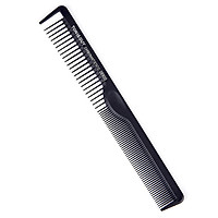 Anti-Static Hairdressing Carbon Fiber Comb Tapered Steel Needle Comb Thicken Heat Resistant Hair Comb