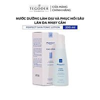 Nước dưỡng làm dịu và phục hồi sâu làn da nhạy cảm Tegoder Perfect skin tonic lotion 200 ml mã 5800