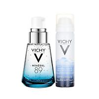 Combo Dưỡng Da Căng Mịn Vichy Mineral 89 30ml +  Xịt Khoáng Thermal 50ml