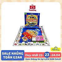 Cờ Tỷ Phú Việt Nam - Trò chơi gia đình rèn luyện tư duy kinh doanh (hộp cứng)