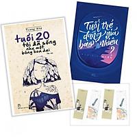 Combo sách tuổi trẻ: Tuổi Trẻ Đáng Giá Bao Nhiêu + Tuổi 20 Tôi Đã Sống Như Một Bông Hoa dại ( tăng kèm bookmark mèo cute)