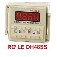 Timer DH48 SS - DH48 1Z - DH48 2Z loại xịn, đồng hồ hẹn giờ thiết bị, rơ le thời gian (đã gồm đế)