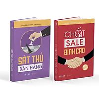 Bộ sách Bán Hàng Đỉnh Cao: gồm sách Sát Thủ Bán Hàng và sách Chốt Sale Đỉnh Cao tặng kèm các khoá học và bộ tài liệu hỗ trợ giúp bùng nổ doanh số kinh doanh truyền thống và online
