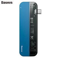 Bộ Hub chuyển đổi 5 trong 1 dùng cho Macbook, iPad Pro nhãn hiệu Baseus CAHUB-TD03 - Hàng Nhập Khẩu