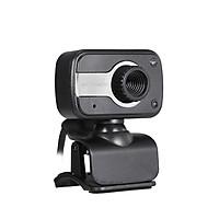 Webcam Tự Động Lấy Nét USB 480p Không Ổ Đĩa Có Micrô Dành Cho PC/ Máy Tính Xách Tay Có Đèn LED