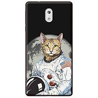 Ốp lưng dành cho Nokia 3 mẫu Mèo phi hành gia