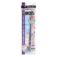 Bút Lông Fudenosuke Tombow 2 Đầu Màu Đen Bạc GCD-121