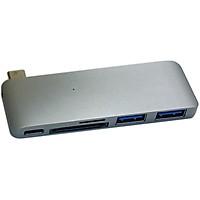 Cổng chuyển Hyperdrive 5 in 1 USB-C Hub with Pass Through Charging - Hàng chính hãng