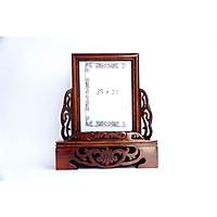 Khung hình thờ cúng khung ảnh ép kính thờ cúng gỗ chạm cao cấp - Nhiều cỡ