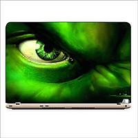 Miếng Dán Skin In Decal Dành Cho Laptop -Người khổng lồ xanh Hulk 2