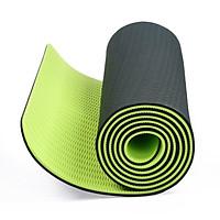 Thảm Tập Yoga  2 Lớp Dày 6mm