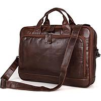 Túi đeo chéo da thật Laptop, Macbook 14-15inch-M338
