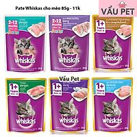 Pate Whiskas cho mèo gói 85g