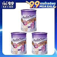 3 Hộp Sữa bột PediaSure Complete Balandced Nutrition (850g) cho trẻ từ 1 đến 10 tuổi - Nhập khẩu Australia