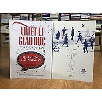 Sách hay dành cho tuổi thanh xuân: Bước chậm lại giữa thế gian vội vã + Triết lý giáo dục của Chu Vĩnh Tân (tặng kèm bookmark)