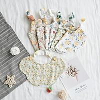 Spring and summer Korean baby saliva towel pure cotton newborn Bib children's eating bag infant products