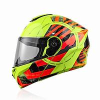 Mũ bảo hiểm Fullface YOHE 938 (TEM) lật hàm