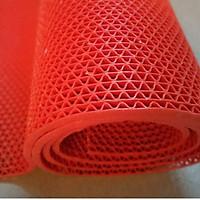 Thảm nhựa lưới  chống trơn, trượt nhà tắm, nhà bếp, nhà vệ sinh khổ 1.2*1m, thảm nhựa lưới