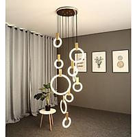 Đèn thả thông tầng STELLA hiện đại trang trí nội thất sang trọng [ẢNH VIDEO THẬT 100%].