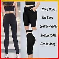 Quần Legging Nữ ️ HiLi_Store ️ Quần Legging Đùi,Lửng,Ngố,Dài Nâng Mông Siêu Co Giãn Cực Hot