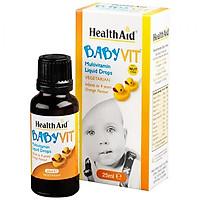 HEALTHAID BABYVIT DROPS VỊ CAM - CUNG CẤP VITAMIN VÀ KHOÁNG CHẤT CHO TRẺ TỪ 0 - 4 TUỔI