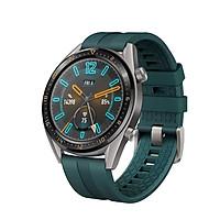 Đồng hồ thông minh Huawei Watch GT  46mm Dây silicon màu xanh - Hàng chính hãng