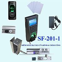 Hệ thống chấm công và kiểm soát cửa kính SF-201P ( Hàng nhập khẩu)