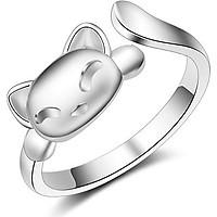 Nhẫn bạc nữ Tiểu cách cách