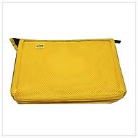 Túi Zipper Lớn - AT - Magic Channel - Vàng